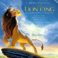CDs de Música: B.S.O. - EL REY LEÓN - ELTON JOHN, TIM RICE Y HANS ZIMMER - CD 12 TRACKS - DISNEY - AÑO 1994. Lote 112654927