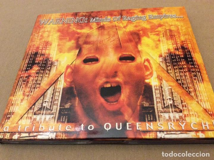WARNING: MINDS OF RAGING EMPIRES... A TRIBUTE TO QUEENSRŸCHE. 2000. (Música - CD's Heavy Metal)