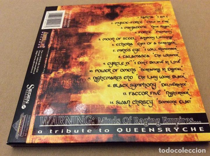 CDs de Música: Warning: Minds Of Raging Empires... A Tribute To Queensrÿche. 2000. - Foto 2 - 112671663