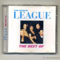 CDs de Música: THE HUMAN LEAGUE-THE BEST OF ...(CD, VIRGIN) PHILIP OAKEY. CONTIENE: LOVE ACTION, MIRROR MAN.... Lote 112689123