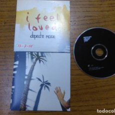 CDs de Música: DEPECHE MODE_I FEEL LOVED_CD SINGLE_CARDBOARD_2001. Lote 112781547
