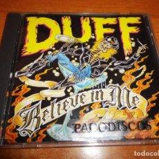 CDs de Música: DUFF MCKAGAN BELIEVE IN ME CD ALBUM DEL AÑO 1993 ALEMANIA GUNS´N ROSES CONTIENE 13 TEMAS. Lote 112794187