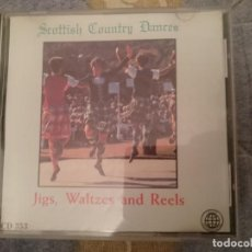 CDs de Música: SCOTTISH COUNTRY DANCES - JIGS WALTZES AND REELS ----REFESCDSDEPRALLAIZARHAMI. Lote 112813975