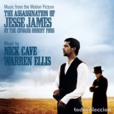 CDs de Música: NICK CAVE AND WARREN ELLIS- MUSIC FROM THE MOTION PICTURE--- THE ASSASSINATION OF JESSE JAMES. Lote 112814863