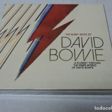 CDs de Música: THE MANY FACES OF DAVID BOWIE CD X3 DIGIPAK MEXICO NUEVO Y PRECINTADO. Lote 112819387