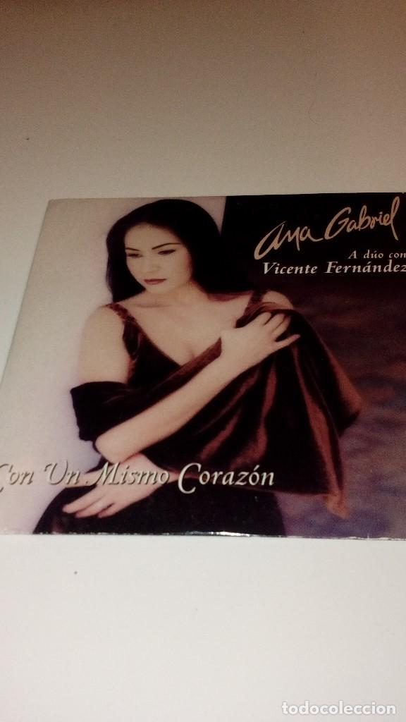 G 21319 Cd Musica Ana Gabriel A Duo Con Vicente Sold Through Direct Sale 112828359