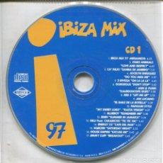CDs de Música: IBIZA MIX 1997 (2 CDS SIN CAJA) MAX MUSIC 1997. Lote 112861619