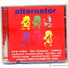 CDs de Música: VARIOS-ALTERNATOR (2 X CD) NEW ORDER,D.A.F, THE SHAMEN,ORBITAL,CABARET VOLTAIRE.... Lote 112875207