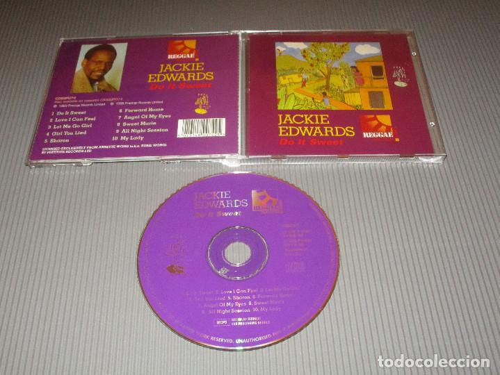 JACKIE EDWARDS ( DO IT SWEET ) - CD - CDSGP074 - PRESTIGE - REGGAE MASTERS SERIES (Música - CD's Reggae)