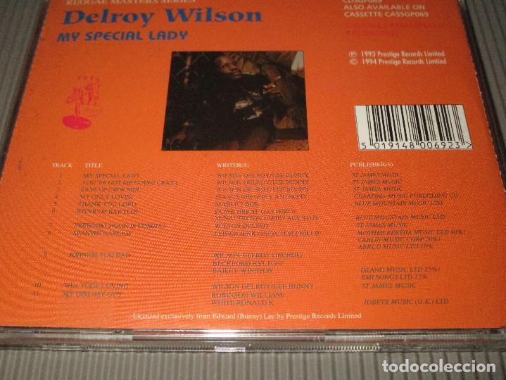 CDs de Música: DELROY WILSON ( MY SPECIAL LADY ) - CD - CDSGP069 - PRESTIGE - REGGAE MASTERS SERIES - Foto 4 - 112882259