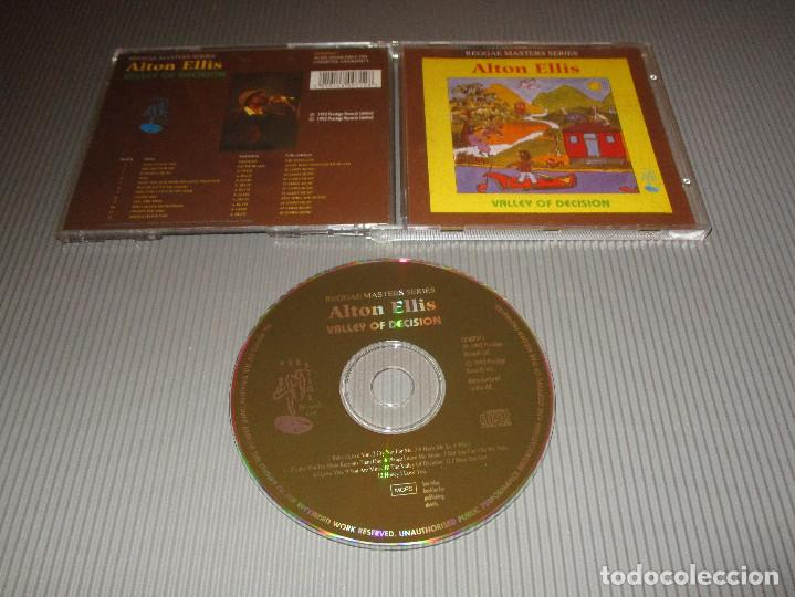 CDs de Música: ALTON ELLIS ( VALLEY OF DECISION ) - CD - CDSGP071 - PRESTIGE - REGGAE MASTERS SERIES - Foto 1 - 112882775
