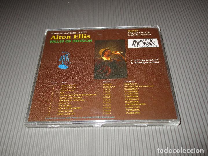 CDs de Música: ALTON ELLIS ( VALLEY OF DECISION ) - CD - CDSGP071 - PRESTIGE - REGGAE MASTERS SERIES - Foto 3 - 112882775