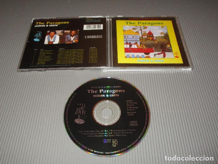 THE PARAGONS ( HEAVEN & EARTH ) - CD - CDSGP075 - PRESTIGE - REGGAE MASTERS SERIES (Música - CD's Reggae)