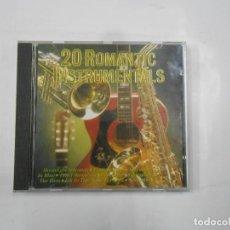 CDs de Música: 20 ROMANTIC INSTRUMENTALS. CD. TDKV15. Lote 112904747