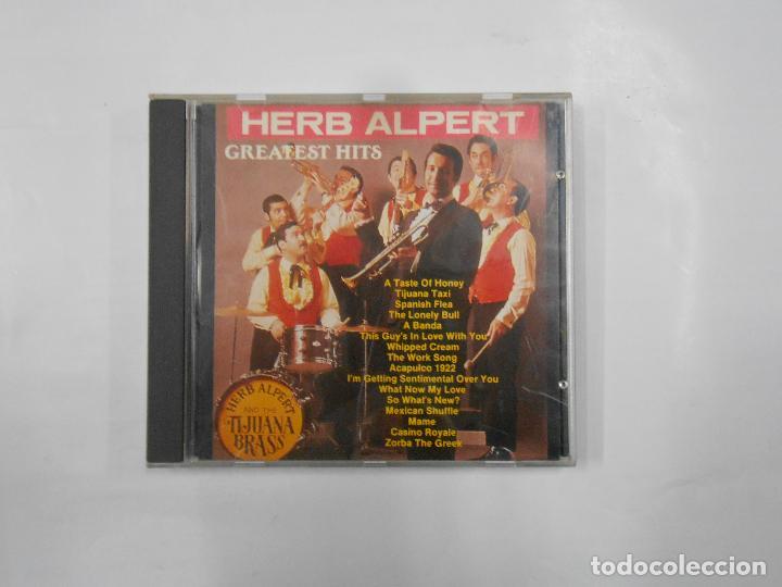 HERB ALPERT & THE TIJUANA BRASS  GREATEST HITS  CD  TDKV15