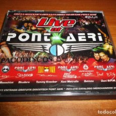 CDs de Música: LIVE AT PONT AERI CUADRUPLE CD 2001 SKUDERO DANY B.P.M. THE MASOCHIST TOMMYKNOCKER BATISTE 4 CD. Lote 112922047