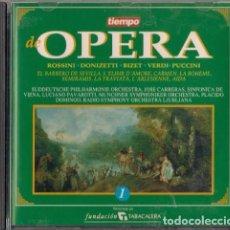 CDs de Música: LOTE 9 CD'S OPERA EDITADO POR LA REVISTA TIEMPO (Nº 1 A 10, FALTA EL 7) - SERDISCO 1993. Lote 112934859