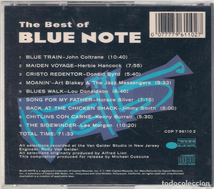 CDs de Música: The best of Blue Note y Vol. 2 - 2 CD - Blue Note 1991/1992 Edición inglesa - Foto 2 - 112936495