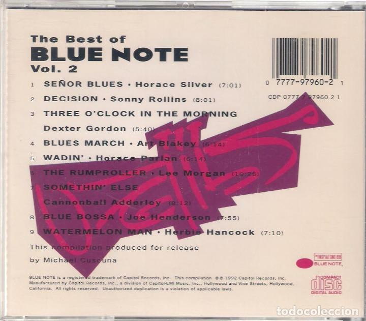 CDs de Música: The best of Blue Note y Vol. 2 - 2 CD - Blue Note 1991/1992 Edición inglesa - Foto 4 - 112936495