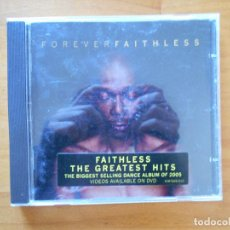 CDs de Música: CD FOREVER - FAITHLESS - THE GREATEST HITS (3R). Lote 112958591