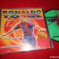 CDs de Música: REGINA DO SANTOS RONALDO TOTAL CD 1997 BARCELONA FUTBOL BARÇA. Lote 112966411