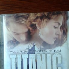 CDs de Música: CD TITANIC MUSIC FROM THE MOTION PICTURE JAMES HORNER 1997. Lote 112993571