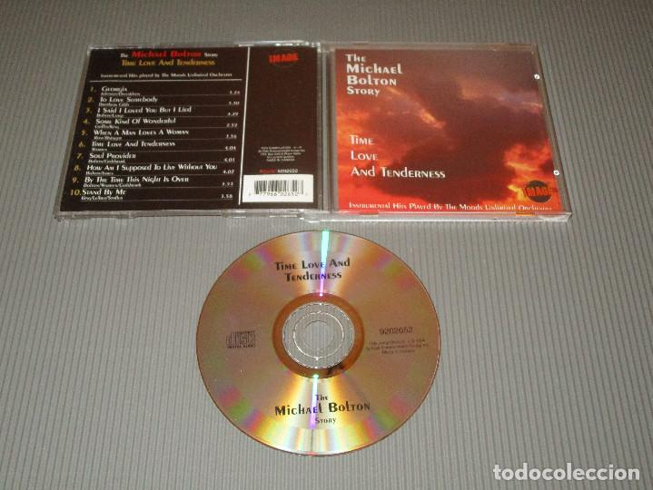 THE MICHAEL BOLTON STORY ( TIME LOVE AND TENDERNESS ) - CD - 9202652 -IMAGE - INSTRUMENTAL HITS ... (Música - CD's Melódica )