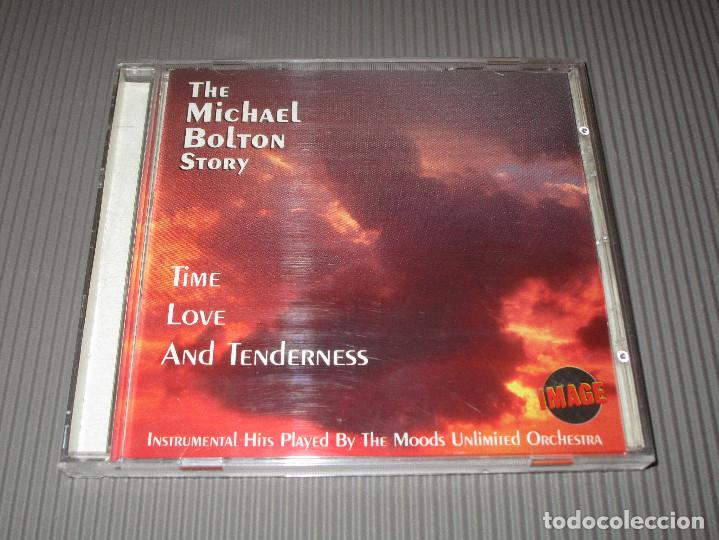 CDs de Música: THE MICHAEL BOLTON STORY ( TIME LOVE AND TENDERNESS ) - CD - 9202652 -IMAGE - INSTRUMENTAL HITS ... - Foto 2 - 112999423