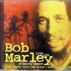 CDs de Música: BOB MARLEY LOVE LIFE CD. Lote 113008503