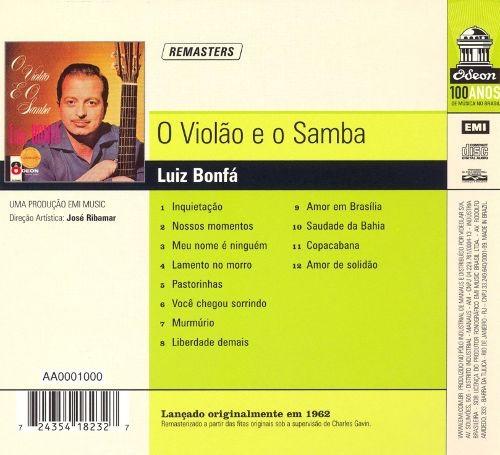 CDs de Música: Luiz Bonfá - O Violão E O Samba (Bossa Nova 1962) - Foto 2 - 52397560