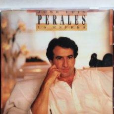 CDs de Música: JOSE LUIS PERALES-LA ESPERA-1988. Lote 113068734