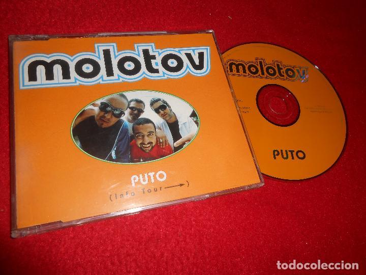 MOLOTOV PUTO CD SINGLE 1998 PROMO ESPAÑA SPAIN + PROMO SPAIN TOUR (Música - CD's Latina)