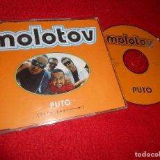 CDs de Música: MOLOTOV PUTO CD SINGLE 1998 PROMO ESPAÑA SPAIN + PROMO SPAIN TOUR. Lote 113069727