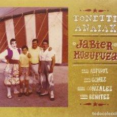 CDs de Música: JABIER MUGURUZA * CD * TONETTI ANAIAK * LTD DIGIPACK * PRECINTADO!!. Lote 113080443