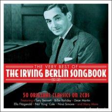 CDs de Música: THE VERY BEST OF THE IRVING BERLIN SONGBOOK * 2CD * FUNDA DE CARTÓN * PRECINTADO!!. Lote 113088107