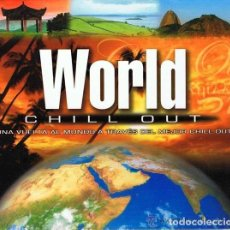 CDs de Música: VVAA - WORLD CHILL OUT (CD + DVD). Lote 113109959