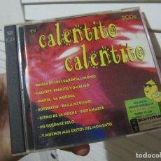 CDs de Música: CALENTITO CALENTITO - 2 CDS - 24 TEMAS - CD. Lote 113114407