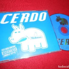 CDs de Música: MOLOTOV CERDO CD SINGLE 1998 PROMO SPAIN ESPAÑA. Lote 113152007