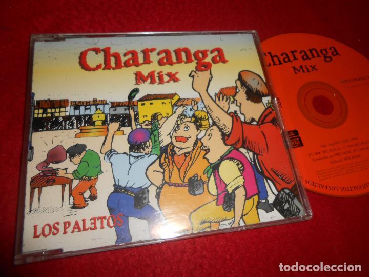 LOS PALETOS CHARANGA MIX ARRUGANDOSE NO! CD SINGLE 1996 (Música - CD's Disco y Dance)