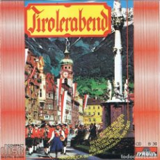 CDs de Música: TIROLERABEND. CD. Lote 113177319