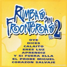 CDs de Música: RUMBAS SIN FRONTERAS VOL. 2. CD. Lote 113178447