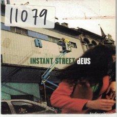 CDs de Música: DEUS - INSTANT STREET / SISTER DEW (CDSINGLE PROMO DE GIRA ESPAÑOLA DE 1999). Lote 113243247