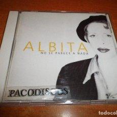 CDs de Música: ALBITA NO SE PARECE A NADA CD ALBUM DEL AÑO 1995 AUSTRIA CONTIENE 10 TEMAS EMILIO ESTEFAN. Lote 113284947