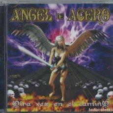CDs de Música: ANGEL DE ACERO CD OTRA VEZ..MEXICAN HEAVY 2008 ANGEL DE METAL-LUZBEL-SARATOGA-MAGO DE OZ. Lote 113338511