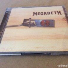 CDs de Música: MEGADETH - RISK - 2CD. 1999.. Lote 113345275
