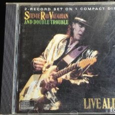 CDs de Música: CD STEVIE RAY VAUGHAN: LIVE ALIVE. Lote 113348403