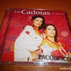 CDs de Música: LAS CARLOTAS ORIGINALES CD ALBUM PRECINTADO DEL AÑO 2004 CONTIENE 12 TEMAS SEVILLANAS MUY RARO. Lote 113351867