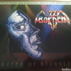 CDs de Música: LIZZY BORDEN- MASTER OF DISGUISE. ED. ESPECIAL 2 DVD+ CD. HEAVY METAL. Lote 113368086