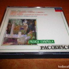 CDs de Musique: CAMPOLI RICCI ROBLES DUTOIT VIOLIN ARPA SARASATE RODRIGO NARVAEZ CABEZON 8 DANZAS ESPAÑOLAS 2 CD. Lote 113400283