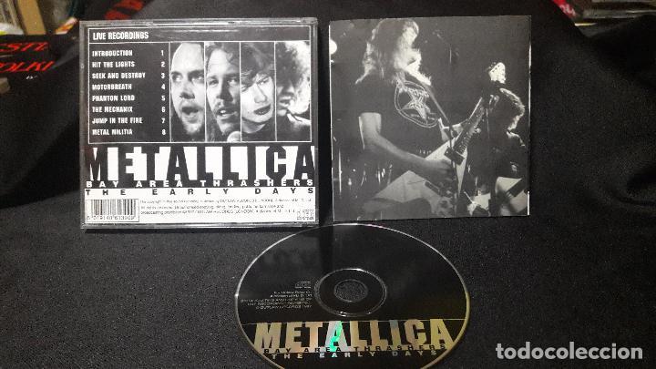 CDs de Música: METALLICA BAY THRASERS AREA THE EARLY DAYS BUEN ESATDO DIFICIL - Foto 3 - 113433091